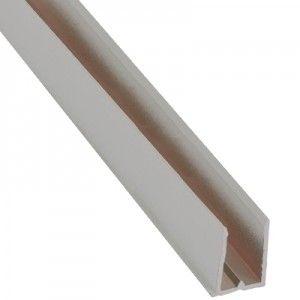 Perfil 39 u 39 de aluminio 6mm rbc - Perfil aluminio u ...